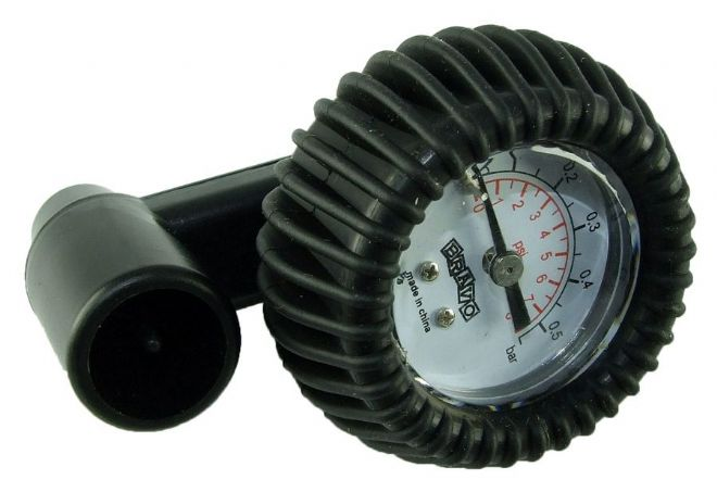 Bravo - In line  Pressure Gauge with Adapters for Inflatable Products